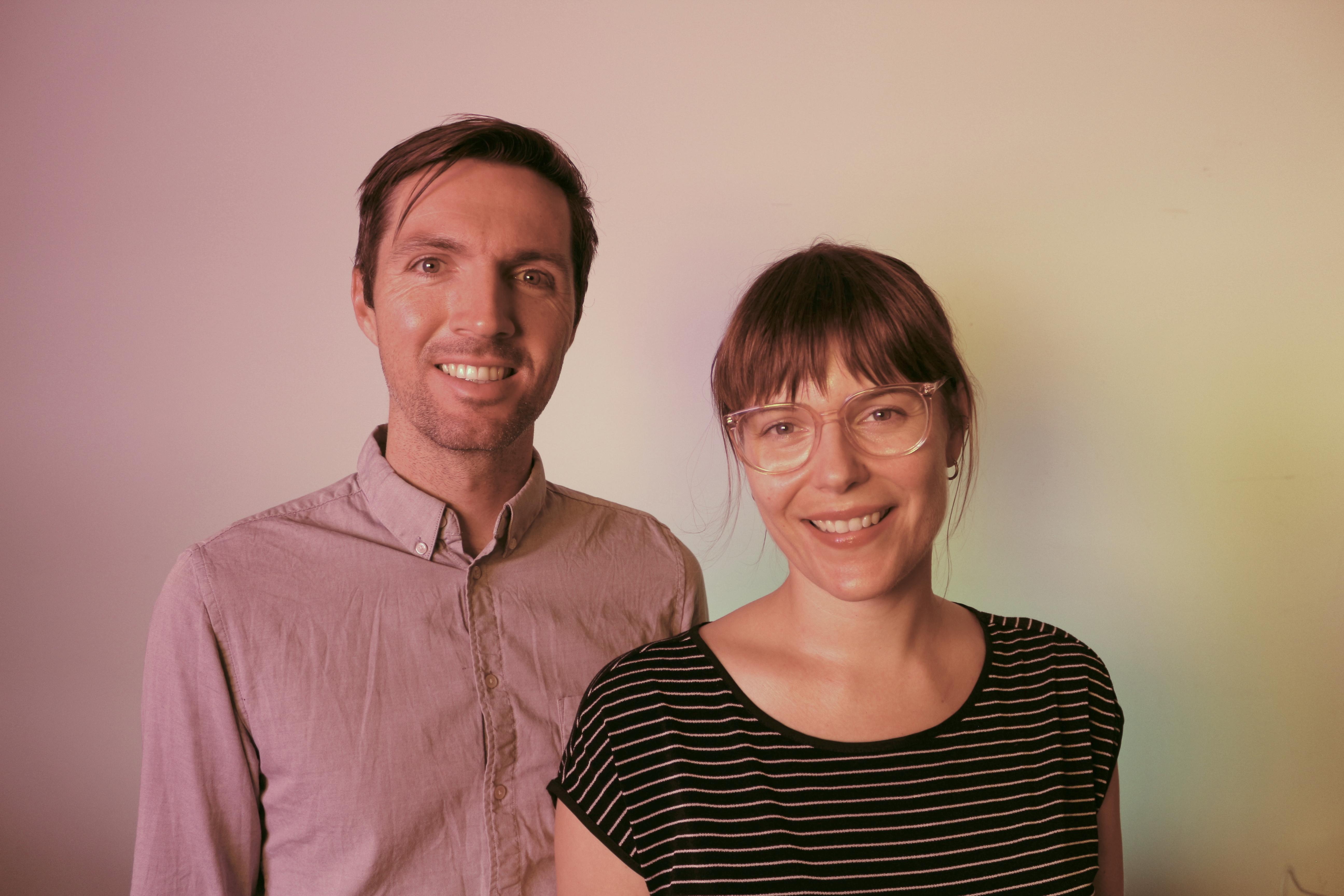 Erin Anderson and Danny Bracken